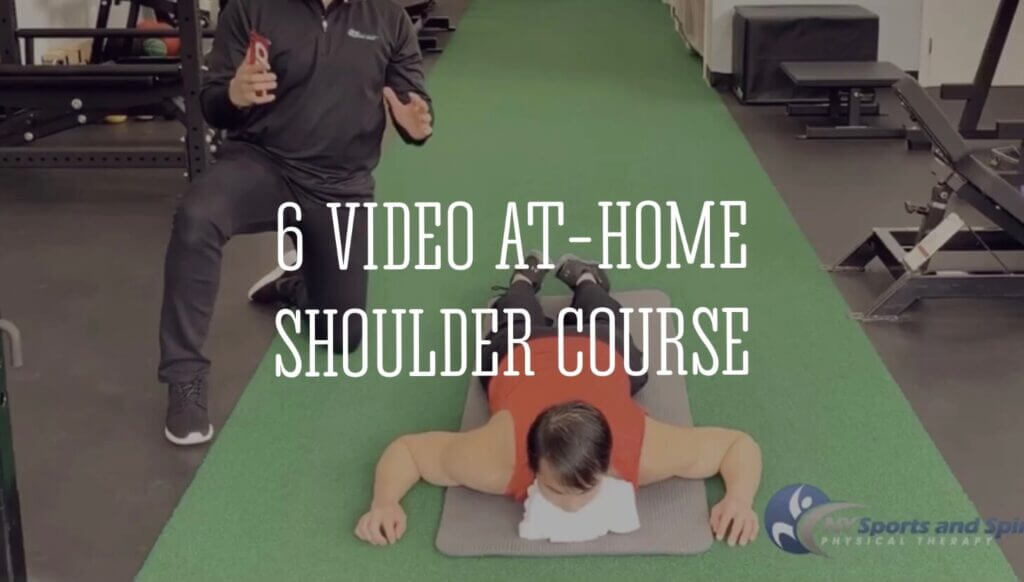 %name At Home Shoulder Course | NY Sports & Spinal Physical Therapy
